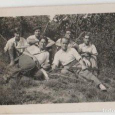 Fotografía antigua: FOTOFRAFIA POSTAL AÑOS 30 TEMA CAZA. Lote 152648318