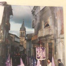 Fotografía antigua: FOTOS SEMANA SANTA SARRIA LUGO COFRADIA DEL SANTO ENTIERRO Y LA SOLEDAD AÑIS 1992/1995. Lote 152738370