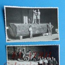 Fotografía antigua: VALENCIA - PUERTO - 3 FOTOGRAFIAS - AÑOS 1940-50. Lote 153210062