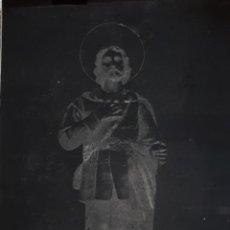 Fotografía antigua: ANTIGUO CLICHÉ DE SAN ISIDRO LABRADOR ESTACION DE CARTAMA MALAGA NEGATIVO EN CRISTAL. Lote 153504018