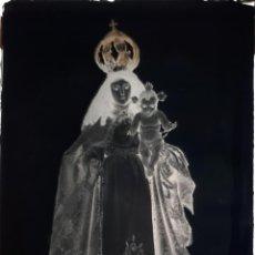 Fotografía antigua: ANTIGUO CLICHÉ DE NUESTRA SEÑORA DEL ROSARIO BENQUERENCIA CACERES NEGATIVO EN CRISTAL . Lote 153600006