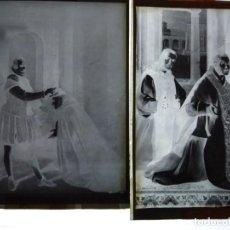 Fotografía antigua: GUADALUPE CÁCERES MONASTERIO 10 ANTIGUOS CLICHÉ NEGATIVO EN CRISTAL. Lote 153742694