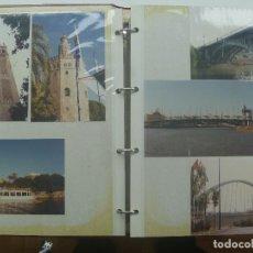 Fotografía antigua: COLECCIONISMO EXPO´92 DE SEVILLA : ALBUM CON 84 FOTOS ORIGINALES DE LOS PABELLONES, ETC. UNICO. Lote 153849602