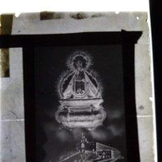 Fotografía antigua: ANTIGUO CLICHÉ DE NTRA SRA DE LA CABEZA PATRONA DE ANDÚJAR JAÉN NEGATIVO EN CRISTAL. Lote 153865646