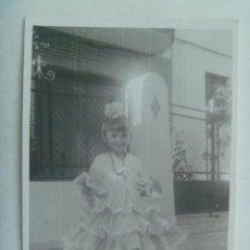 Fotografía antigua - BONITA FOTO DE NIÑA VESTIDA DE FLAMENCA - 154367126