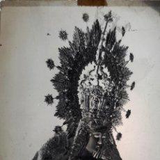 Fotografía antigua: ANTIGUO CLICHÉ DE LA MACARENA DE CASTILLEJA DE LA CUESTA SEVILLA NEGATIVO EN CRISTAL. Lote 154457662