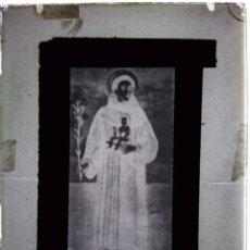 Fotografía antigua: MADRID ANTIGUO CLICHÉ DE SAN ANTONIO DE PADUA EL GUINDERO NEGATIVO EN CRISTAL. Lote 154843206