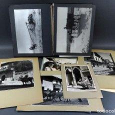 Fotografía antigua: 86 FOTOGRAFÍAS COSTUMBRISTAS SANTILLANA DEL MAR GRANADA ALMERÍA TOLEDO MERCADO AÑOS 50. Lote 155127062