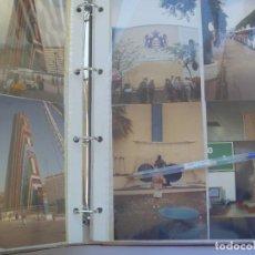 Fotografía antigua: COLECCIONISMO EXPO´92 DE SEVILLA : ALBUM CON 108 FOTOS ORIGINALES DE LOS PABELLONES, ETC. UNICO. Lote 155359818