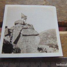 Fotografía antigua: FOTO FOTOGRAFIA BOY SCOUTS O SIMILAR NIÑOS DE ESCURSION SIERRA . Lote 155586422