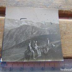 Fotografía antigua: FOTO FOTOGRAFIA BOY SCOUTS O SIMILAR NIÑOS DE ESCURSION SIERRA . Lote 155589166