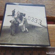Fotografía antigua: FOTO FOTOGRAFIA AVION 1925 AEROPLANO. Lote 155615734