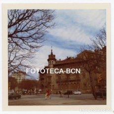 Fotografía antigua: FOTO ORIGINAL BARCELONA RAMBLA CATALUNYA CAN SERRA EDIFICIOS DESAPARECIDOS AÑOS 60. Lote 155918418