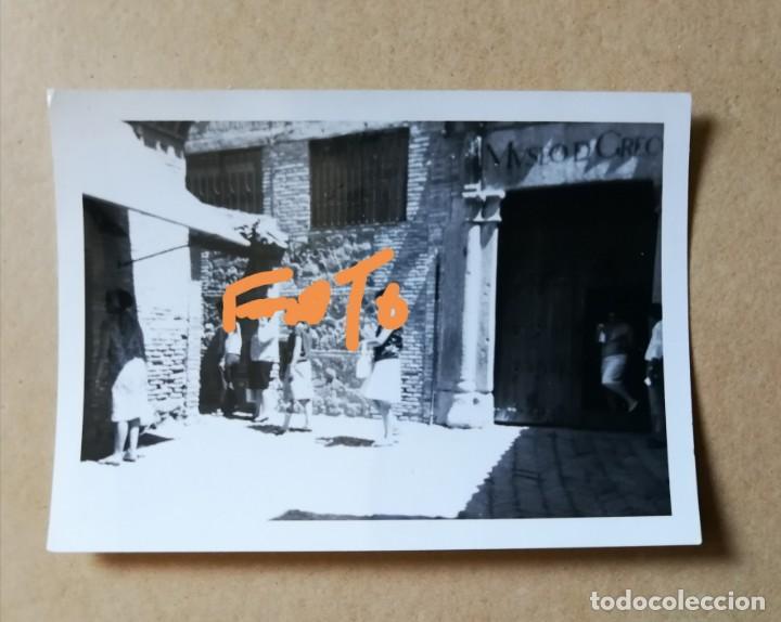FOTOGRAFÍA DE TOLEDO. CASA DE GRECO. FOTO AÑOS 60. (Fotografía Antigua - Fotomecánica)
