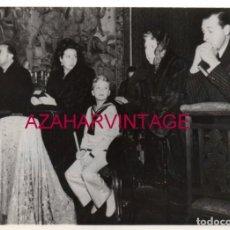Fotografía antigua: 1946, PRIMERA COMUNION DEL REY DON JUAN CARLOS, 178X128MM. Lote 156550362