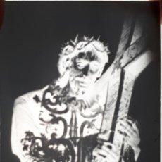 Fotografía antigua: ANTIGUO CLICHÉ DE NUESTRO PADRE JESÚS NAZARENO CACERES NEGATIVO EN CRISTAL. Lote 156665290