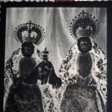Fotografía antigua: SEVILLA ANTIGUO CLICHÉ DE NUESTRA SEÑORA SANTA ANA TRIANA SEVILLA NEGATIVO EN CRISTAL. Lote 157133246
