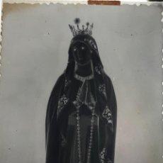 Fotografía antigua: ANTIGUO CLICHÉ DE NUESTRA SEÑORA DE LOURDES PUERTO REAL CADIZ NEGATIVO EN CRISTAL. Lote 157133770