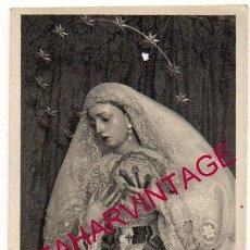Fotografía antigua: SEMANA SANTA SEVILLA, ANTIGUA FOTOGRAFIA ESPERANZA DE LA TRINIDAD, FOT.MARIO, 58X108MM. Lote 157401774