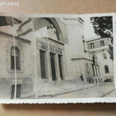 Fotografía antigua: FOTOGRAFÍA. FACULTAD DE MEDICINA. VALENCIA. FOTO AÑOS 50.. Lote 158682182