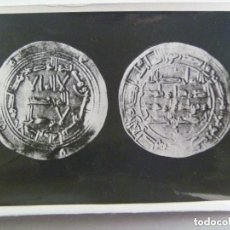 Fotografía antigua: FOTO DE MONEDA ARABE DE AL-ANDALUS EPOCA DE HISAM I . DE LINARES ( CORDOBA ? ). Lote 195232483