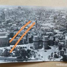 Fotografía antigua: FOTOGRAFÍA AÉREA DE VALENCIA. FOTOGRAFÍAS AÉREAS. PAISAJES ESPAÑOLES. FOTO. Lote 159471210