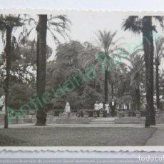 Fotografía antigua: FOTOGRAFÍA ANTIGUA ORIGINAL. PARQUE (10 X 7 CM). Lote 159511266