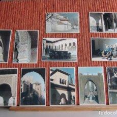 Fotografía antigua - 1967-LOTE DE 11 FOTOGRAFÍAS DE GRANADA-COLOR-ORIGINAL-PROCEDENTE DE TURISTA FRANCES.LOTE-4 - 159573466