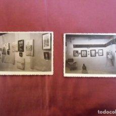 Fotografía antigua: CAUDETE(ALBACETE)FOTOS MOLINA(2) 8 SEPTIEMBRE 1951 ,EXPOSICION DE PINTURA,. Lote 159779550