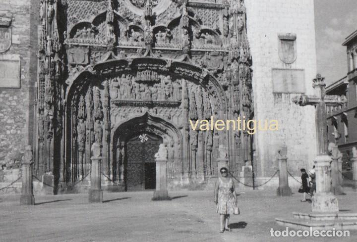 BONITA FOTOGRAFÍA. PUERTA DEL CONVENTO DE SAN PABLO DE VALLADOLID. AÑOS 60. (Fotografía Antigua - Fotomecánica)