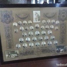 Fotografía antigua: ORLA ENMARCADA MEDIDAS 105X47 CM. FACULTAD DE MEDICINA DE CÁDIZ 1947 - VER FOTOGRAFÍAS. Lote 160230406