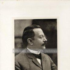 Fotografía antigua: [FOTOGRAFÍA.1907] ENRIQUE PRAT DE LA RIBA. RETRAT DE ENRIC PRAT DE LA RIBA. Lote 160280694