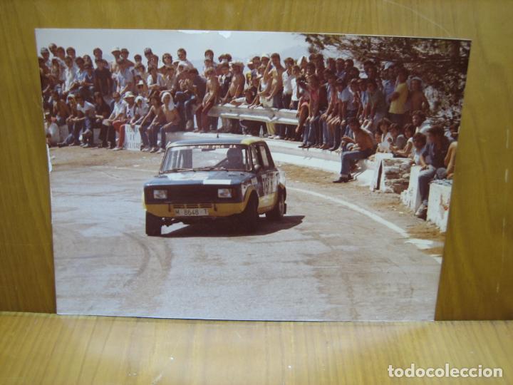 FOTOGRAFÍA RALLY SIERRA MORENA EN CÓRDOBA AÑOS 80 (Fotografía Antigua - Fotomecánica)