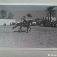 Old photograph - FOTO DE CAMPERO A CABALLO , DOMA VAQUERA O SIMILAR - 160346418