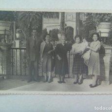 Fotografía antigua: MINUTERO DEL FOTOGRAFO DEL PARQUE Mª LUISA SEVILLA : FAMILIA , 1953. Lote 160352038