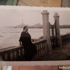 Fotografía antigua: ANTIGUA FOTOGRAFIA LA MANGA DEL MAR MENOR CABO DE PALOS MURCIA. Lote 160833994