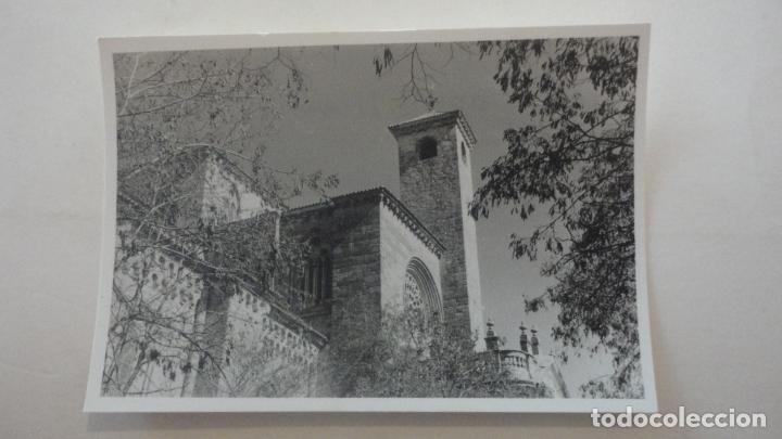 ANTIGUA FOTOGRAFA.VISTA DE SIGUENZA GUADALAJARA 1957 (Fotografía Antigua - Fotomecánica)