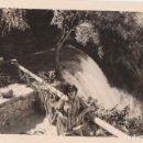 Fotografía antigua: 2 FOTOGRAFÍAS TOMADAS EN EL MONASTERIO DE PIEDRA, ZARAGOZA. AÑOS 60.. Lote 160980934