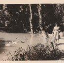 Fotografía antigua: 2 FOTOGRAFÍAS TOMADAS EN EL MONASTERIO DE PIEDRA, ZARAGOZA. AÑOS 60.. Lote 160981470