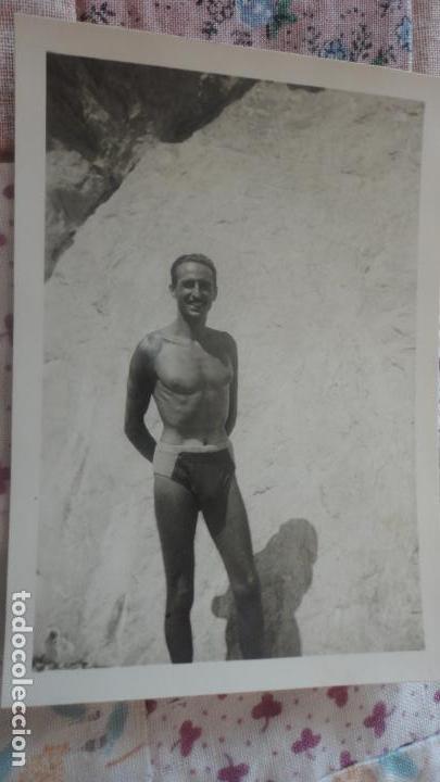 Fotografia Antigua años 40 Bañador En chico 0n8wXOkNP