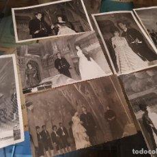 Fotografía antigua: ANTIGUAS FOTOGRAFIAS ZARZUELA LUISA FERNANDA SELLO FOTOGRAFO JIMENEZ CARAVACA MURCIA. Lote 161146554