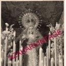 Fotografía antigua: SEMANA SANTA SEVILLA, LA ESPERANZA DE TRIANA, HARETON, 17X24 CMS. Lote 161319498