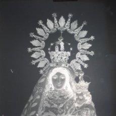 Fotografía antigua: ANTIGUO CLICHÉ NUESTRA SEÑORA DEL CONSUELO LOGROSAN CACERES NEGATIVO EN CRISTAL . Lote 162423534