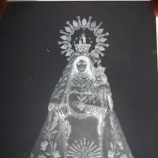 Fotografía antigua: ANTIGUO CLICHÉ DE NUESTRA SEÑORA DEL CONSUELO LOGROSAN CACERES NEGATIVO CRISTAL . Lote 162521910