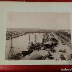 Fotografía antigua: FOTOTIPIA HAUSER Y MENET 1893 SEVILLA EL MUELLE Nº 94. Lote 162758250