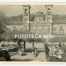 Fotografía antigua: FOTO ORIGINAL DONOSTIA SAN SEBASTIAN AYUNTAMIENTO AÑOS 50. Lote 163364410