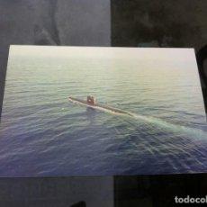 Fotografía antigua: FOTOGRAFÍA DE SUBMARINO. 15 X 10CM. Lote 163497966