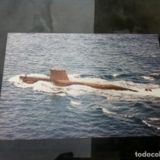 Fotografía antigua: FOTOGRAFÍA DE SUBMARINO. 15 X 10CM. Lote 163498070