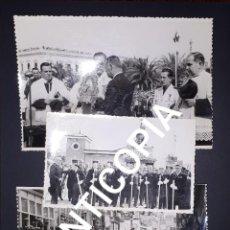 Fotografía antigua: CARTAGENA 15 FOTOGRAFIAS DE LA CORONACIÓN DE LA VIRGEN DE LA CARIDAD 1955 CASAU SAEZ ABELLÁN . Lote 163526218
