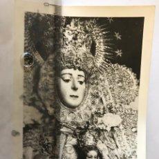 Fotografía antigua: ANTIGUA FOTOGRAFÍA DE LA VIRGEN DEL ROCÍO. ALMONTE. HUELVA.. Lote 163591500